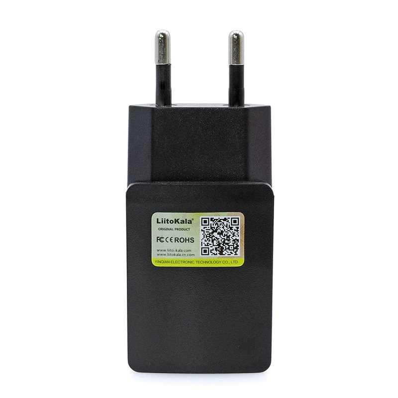 Liitokala Lii-100 202 402 1.2 فولت 3.7 فولت 3.2 فولت AA AAA 18650 18350 26650 10440 14500 16340 25500 نيمه بطارية ليثيوم الشواحن الذكية