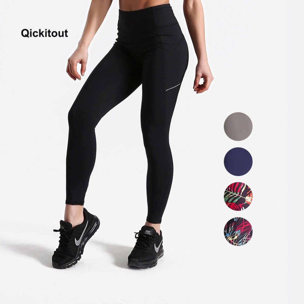 Women Summer Pants Fitness   leggings   Pockets Pants High Waist Plus Size Workout Pants Exercise Street Wear Pants