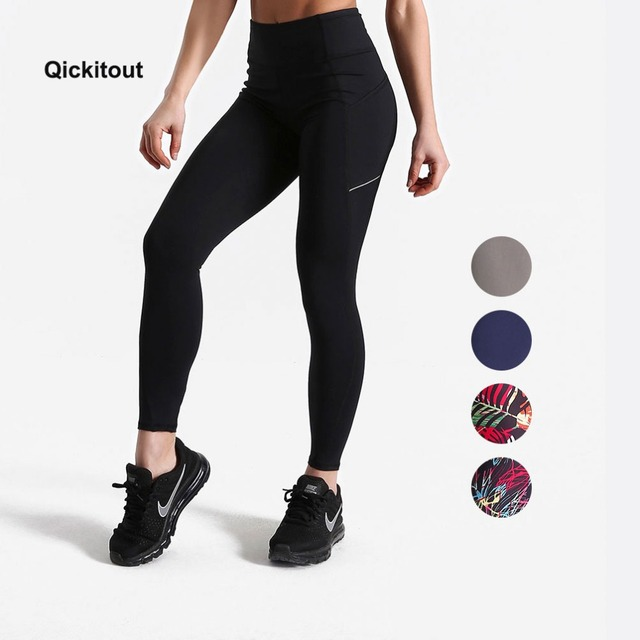 ffb1ef002 Women Summer Pants Fitness leggings Pockets Pants High Waist Plus Size  Workout Pants Exercise Street Wear Pants