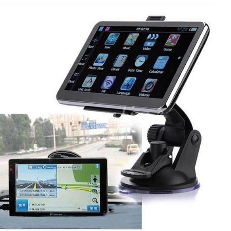 GPS 7 Inch Capacitive Truck Navigator Windows Built-in memory: 4G,WIFI AV-IN Bluetooth Free Truck Map 7 inch portable hd tft car gps navigator bluetooth av in fm 4gb newest free map