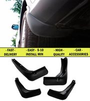 Mudguard Case For Volkswagen Polo Sedan 2015 1 Set 4 Pcs Front Rear Protection Against Mud