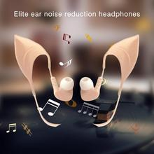 цена 3.5mm Cosplay Elf Ear Shape In-Ear Earphone Spirit Fairy Girl's Gift онлайн в 2017 году