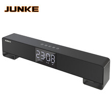 LCD Clock HIFI Wireless Stereo Super Bass Caixa Sound Box HandFree for Phone pow