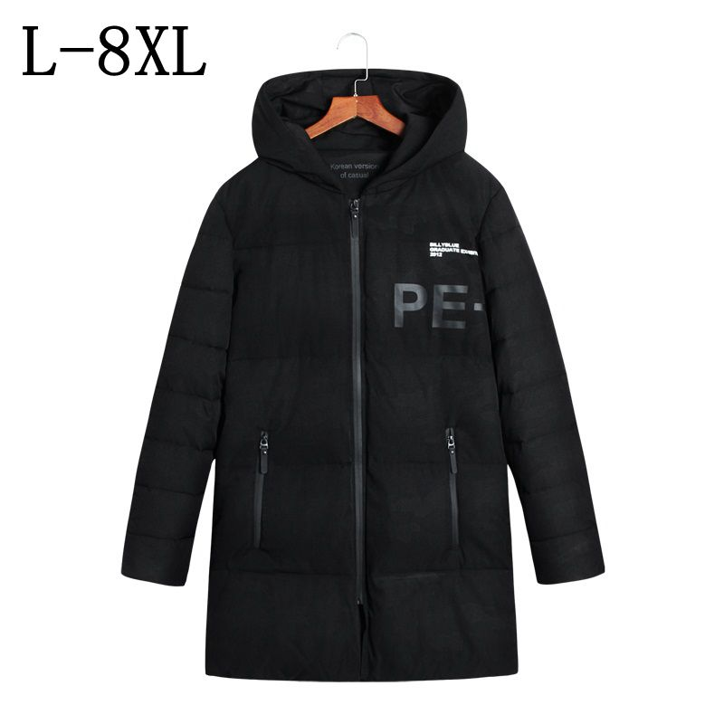 Parka Winter Jacket Men Coat Mens Winter Jackets Thick Hooded Long Casual Fashion Jackets Men 2017 Winter Coat Size L-8XL winter jacket men 2016 brand parka plus size men s hooded parka zipper quilted coat casual jackets