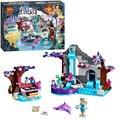BELA 10410 Bloques de Construcción Niña Spa Secreto de Naida Compatible Con Legoe Elfos 41072 Niñas Amigo Figuras de Acción Ladrillos juguetes