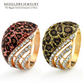 Neoglory Auden Rhinestone Wild Women Gold Plated Fashion Ring Korean Jewelry 2017 New Arrival CLE