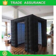Высококачественная надувная фотобудка на заказ для свадебвечерние НКИ, светодиодная фотобудка, палатка