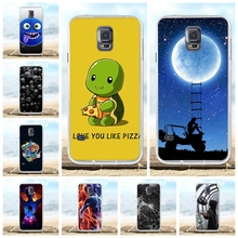 For Samsung Galaxy S5 Case Soft TPU Silicone For Samsung Galaxy S5 G900F G900I Cover Cartoon Patterned For Samsung S5 Funda Bag цена и фото