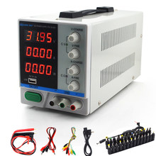 New 30V 10A LED Display Adjustable Switching Regulator DC Power Supply PS-3010DF Laptop Repair Rework USB Charging 110v - 220v(China)