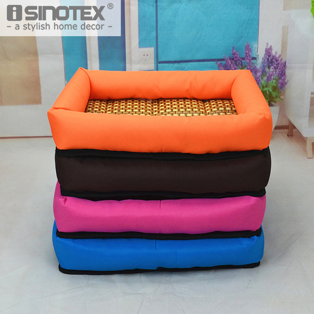 Pet Dog Puppy Cat Bedding Bed Sofa Mat Solid Breathable Soft Cool Summer Hot Weather Durable