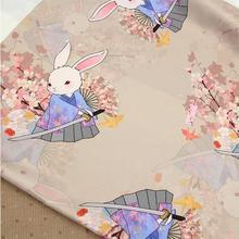 Samurai lute rabbit imitation Hongyun yarn dress,cheongsam fabric Han clothing fabrics accessories,fabric piece50*140CM,B775 все цены