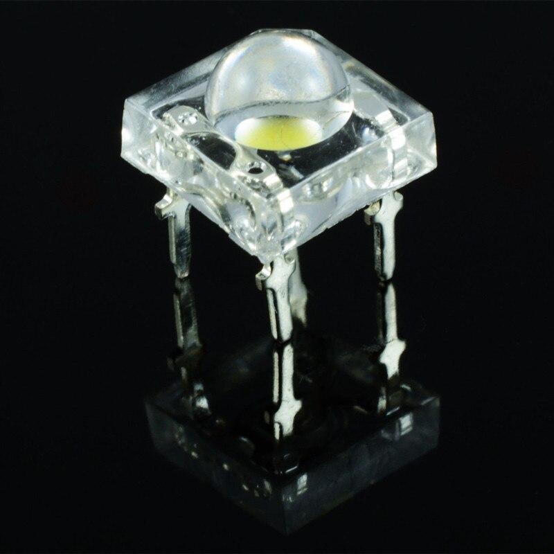 Light Emitting Diode : Aliexpress buy pcs mm piranha led diode white