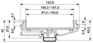 Image 5 - UM108 pcb طول: 251 300 ملليمتر الشخصي لوحة تصاعد قاعدة pcb الإسكان الكلور الدين تركيب محول