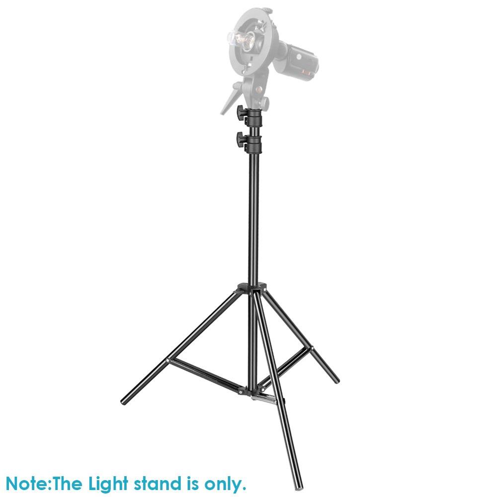 Image 5 - ZUOCHEN 2 Pack Photography Light Stand 79 Inches Heavy Duty Support Stand for Photo Studio Softbox, Umbrella, Strobe Light-in Light Stand from Consumer Electronics