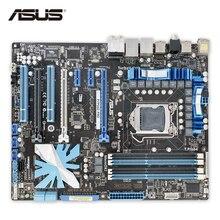 ASUS P7P55D Pro Original использоваться для настольных ПК P55 LGA 1156 i5 i7 DDR3 16 г SATA2 USB2.0 ATX
