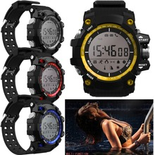 Waterproof Bluetooth Smart Watch With Call SMS Reminder Temperature Altitude Outdoor Sport Wristwatch For Android IOS