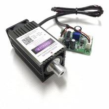 500 МВт НМ фокусировка синий фиолетовый лазерный модуль лазерная гравировка TTL модуль 500 МВт лазерной трубки Лазерный диодный модуль