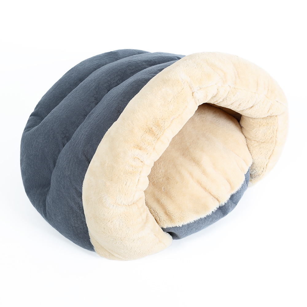 Hoopet Pet Hund Kat Bed Warm Soft Sleeping Bag Killing House Sack Bed - Pet produkter - Foto 3