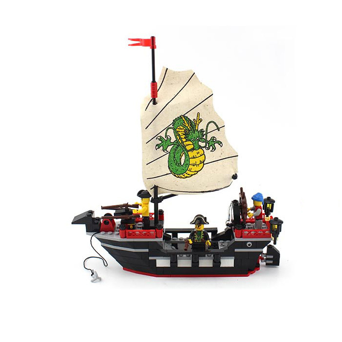 model building kits compatible with lego city pirate 835 3D blocks Educational model & building toys hobbies for children