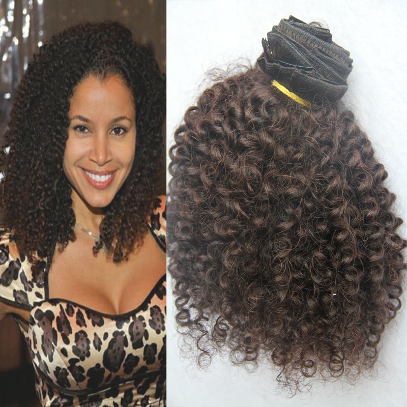Hot clip in human hair extensions 7a afro kinky curly clips in hot clip in human hair extensions 7a afro kinky curly clips in human hair extension 9pcsset natural black curly clip ins hair on aliexpress alibaba pmusecretfo Gallery