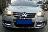 RQXR LED driving light for volkswagen vw Jetta sagitar golf 5 variant daytime running light, 2pcs