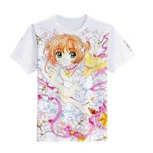 Brdwn Unisex Card Captor SAKURA cosplay T-shirt Short sleeve Tees Tops