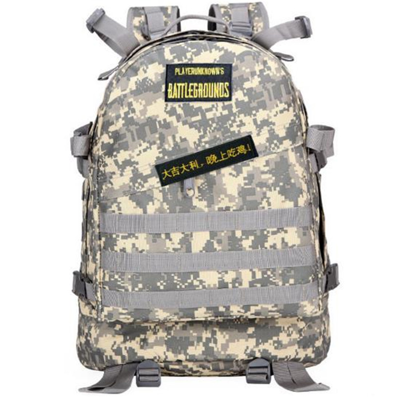 2018 Playerunknowns Battlegrounds Game PUBG Cosplay Chicken Dinner Three Backpacks Unisex Adult Travel Bag Children Schoolbag