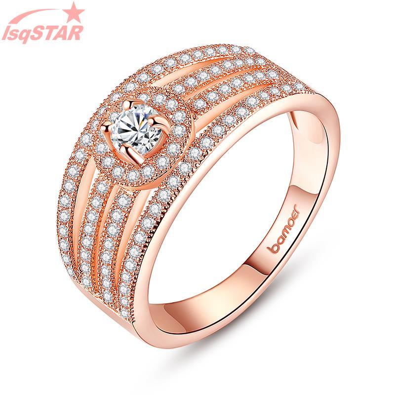 Aliexpress.com : Buy lsqSTAR wide wedding bands for women gold ...
