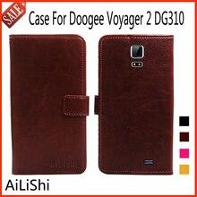 AiLiShi Роскошный кожаный чехол Для Doogee Voyager 2 DG310 бумажник с карт памяти флип Защитная сумка чехол телефона аксессуар