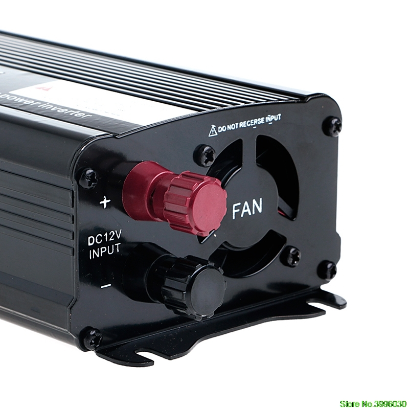 Solar Power Inverter <font><b>12V</b></font> DC Zu <font><b>230V</b></font> AC Modifizierte Sinus Welle Konverter image