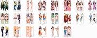 Uma peça anime personagens nami & nico robin & boa hancock jogar fronha fronha fronha do corpo do macaco d luffy & roronoa zoro|cover bottle|cover mobile|cover suit -