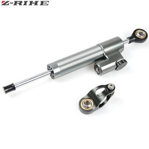 Image 4 - CNC Universal Aluminium Motorrad Dämpfer Lenkung Stabilisieren Sicherheit Control Für Suzuki GSX R GSXR 600 750 1000 K1 K2 K3 K4 k5 K6
