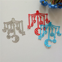 new Wind Chimes Baby Bed Bell Metal Cutting Dies Stencil Embossed Scrapbooking Decorative DIY babys toy crafts Cards