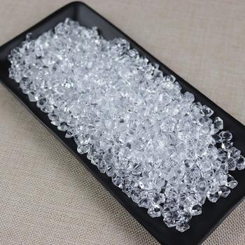 Jedno opakowanie zawiera 430 kapsułek dekoracyjne kostki lodu symulacja kostki lodu fałszywe kostki lodu wyświetlacz kostki lodu z tworzywa sztucznego dekoracyjne tanie i dobre opinie