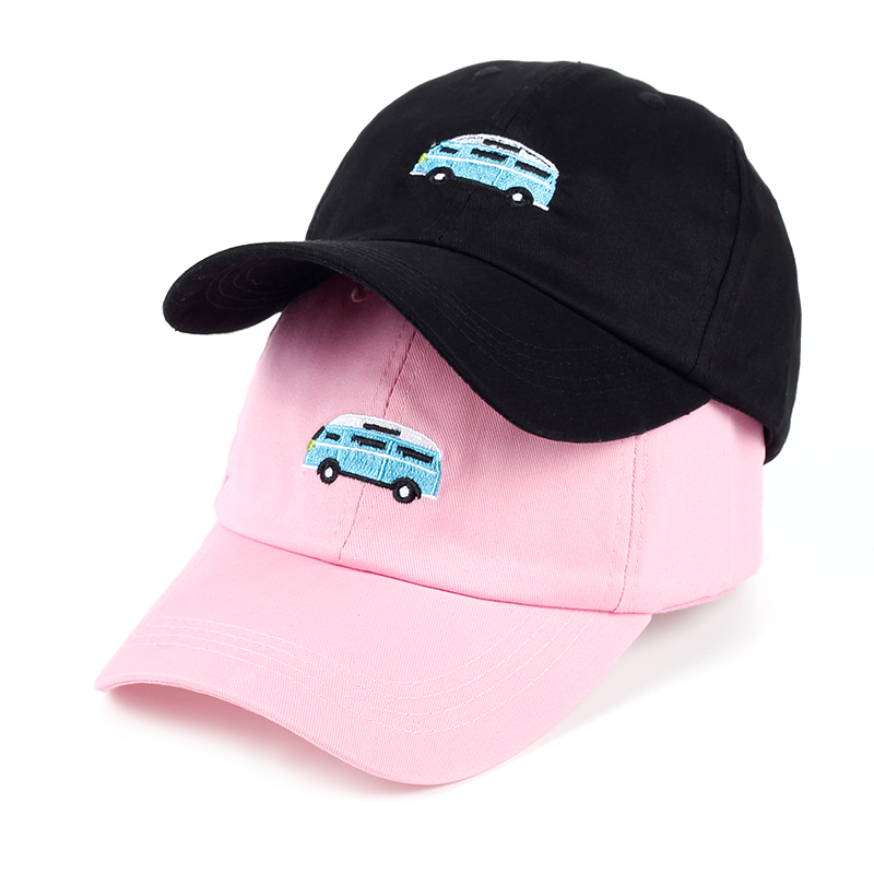 VORON 2017 Dad Hat New Style Baseball Caps Women Men Car Embroidery Snapback Cap Pink Black Trucker Hats Adjustable wholesale 2017 new women hats caps velvet women s dome caps pearl diamond turban hat hijab style hair accessory bandana hairdband