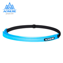 AONIJIE Silicone Sweatband Unisex Overgrip Sport Adjustable Headband Anti-Slip Hairbands Running Fitness Gym Tennis Elastic Belt