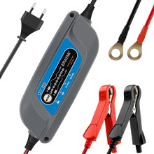 ERAYAK Full Automatic Car Battery Charger 12V 5A 8-speed for 10-120AH Batteries Power Supply with EU Plug Car Charger(China)