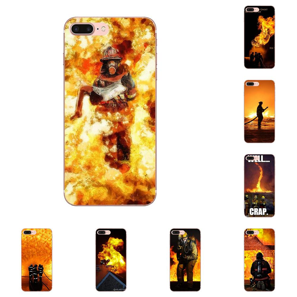 Phone Bags & Cases Back To Search Resultscellphones & Telecommunications On Sale Luxury Mobile Phone Shell For Xiaomi Redmi Note 2 3 3s 4 4a 4x 5 5a 6 6a Pro Plus Firefighter Fireman Fire Helmet Attractive Fashion