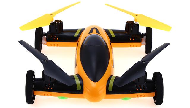 Nova chegada feng niu fn668 2.4g 8ch 6-axis gyro rc quadcopter Céu da terra do 2 em 1 Modelo de Helicóptero de Controle Remoto Com Transmissor