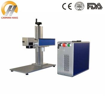 Free Shipping 30W Split Desktop Fiber Laser Marking Machine Price for Stainless Steel Metal Blade Marking Jewelry Laser Marking цена 2017