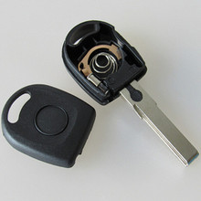 Good Quality For  VW Passat Transponder Key Shell With Light HU66 Blade with LOGO
