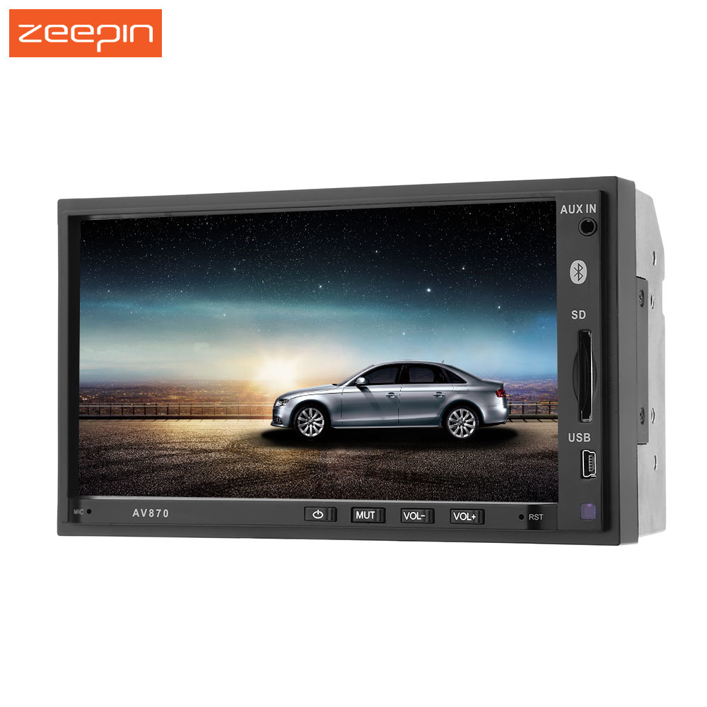 7'' 2 Din Car Radio Player Auto Audio Stereo FM Bluetooth MP4 USB 2din Car MP5 Player Support Rear View Camera Autoradio RDS universal 2 din car video player auto audio stereo mp5 player 7 2din car dvd player usb fm bluetooth support rear view camera