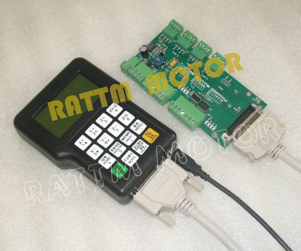 DSP handle controller CNC Router Machine richauto a11 dsp controller for cnc router control dsp a11s a11e board data line