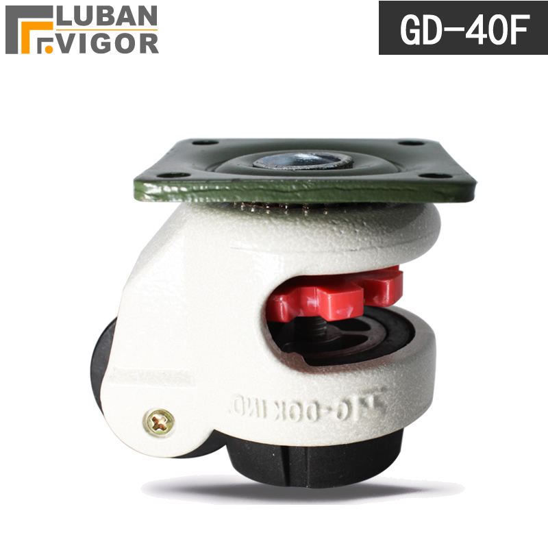 GD-40F,level adjustment caster with support frame load capacity 50kg/piece Raise height10mm,Industrial casters посуда для тушения tonze dgd 40f 40kz 40eb dgd 40f 40kz 40eb 4l