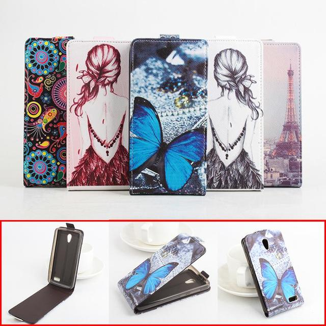 Painted High Quality New Original Lenovo A319 Leather Case Flip Cover for Lenovo A319 A 319 Case Phone Cellphone Cover In Stock