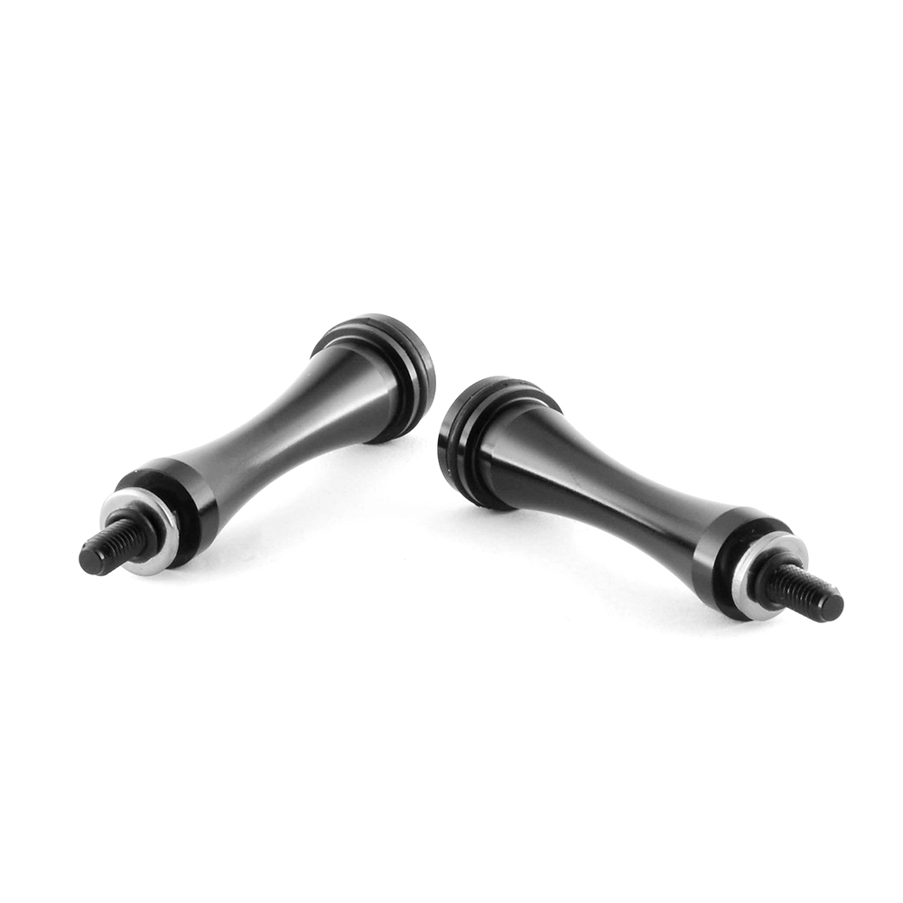 Quick Release Aluminum Seat Bolts Long 1pair For Triumph Thruxton Bonneville T100 Scrambler 2014 2015 2016(China)