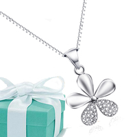 2015 Cadenas De Plata 925 Mujer Fashion 925 Sterling Silver Chain Necklace Jewelry Christmas Gift For