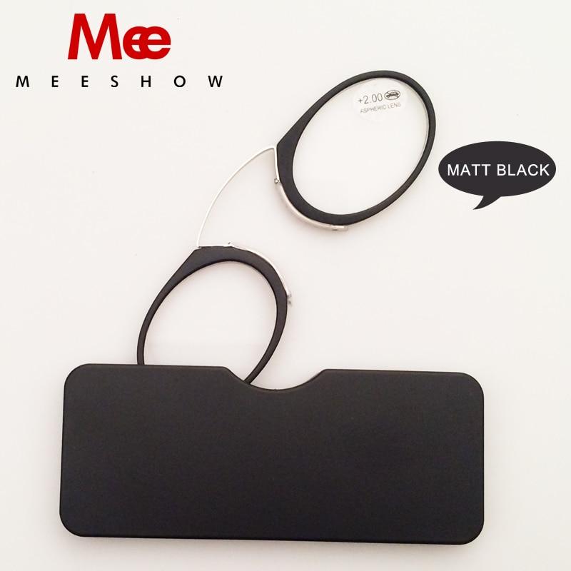 Gafas 2 stks Nieuwe Noble Neus CLIP Leesbril Tr90 Mini SOS, Power + - Kledingaccessoires