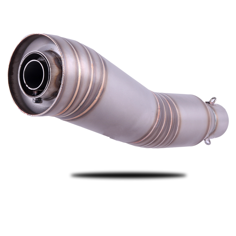 Universal 36~51mm Motorcycle S HP Titanium Alloy Colors Exhaust Muffler Escape Middle Pipe with DB-KILLER for Many Motorbike