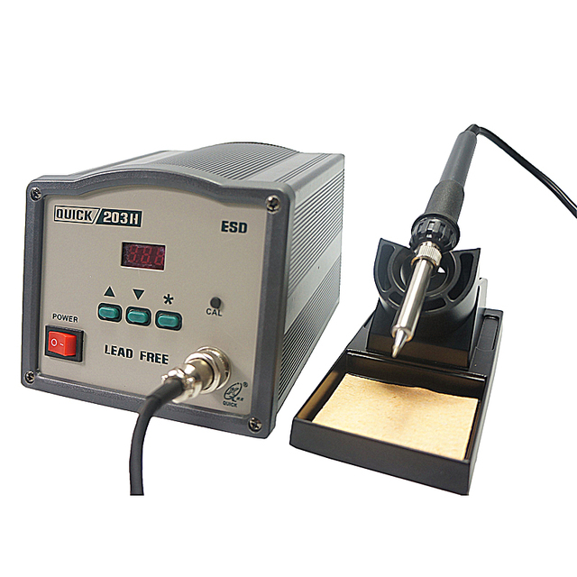 90W Quick 203H Intelligent High Frequency BGA Rework Electric Soldering Iron Station